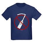 Douche Free Zone Kids Dark T-Shirt