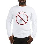 Douche Free Zone Long Sleeve T-Shirt