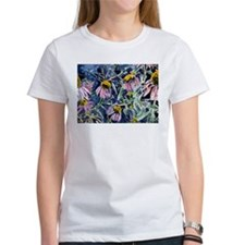 echinacea flower art gifts wa Tee