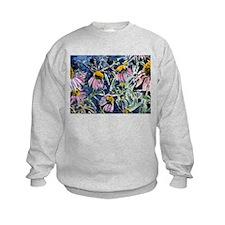 echinacea flower art gifts wa Sweatshirt