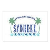 Sanibel Happy Place - Postcards (Package of 8)