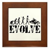 Go-Kart Evolution Framed Tile