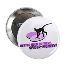 "Spider-Monkey 2.25"" Button"