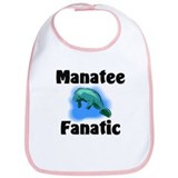 Manatee Fanatic Bib