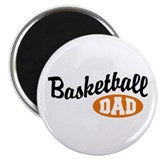 Basketball Dad Magnet