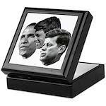 Obama - Kennedy (JFK, RFK) Keepsake Box