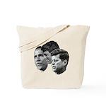 Obama - Kennedy (JFK, RFK) Tote Bag