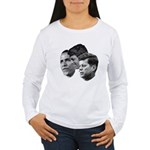 Obama - Kennedy (JFK, RFK) Women's Long Sleeve T-S