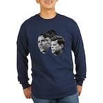 Obama - Kennedy (JFK, RFK) Long Sleeve Dark T-Shir