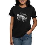 Obama - Kennedy (JFK, RFK) Women's Dark T-Shirt