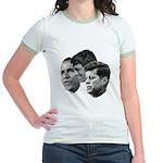 Obama - Kennedy (JFK, RFK) Jr. Ringer T-Shirt