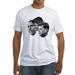 Obama - Kennedy (JFK, RFK) Fitted T-Shirt
