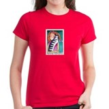 CAT LADY No.20...Women's Cotton T-Shirt (4 colors)
