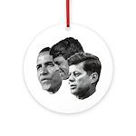 Obama - Kennedy (JFK, RFK) Ornament (Round)