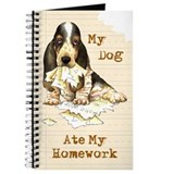 Basset Ate Homework Journal