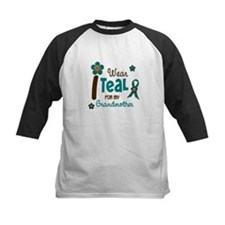 I Wear Teal For My Grandmother 12 Tee