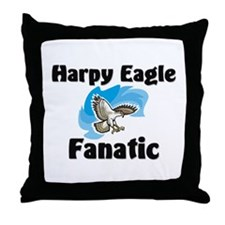 Harpy Eagle Fanatic Throw Pillow
