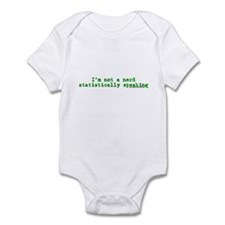 Statistically Speaking Infant Bodysuit