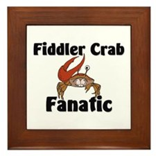 Fiddler Crab Fanatic Framed Tile