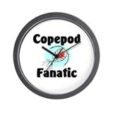 Copepod Fanatic Wall Clock