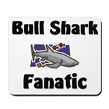 Bull Shark Fanatic Mousepad