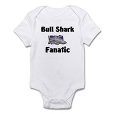 Bull Shark Fanatic Infant Bodysuit