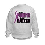 Fibromyalgia:Purple for Siste Sweatshirt