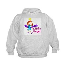 The Little Angel Girl Hoodie