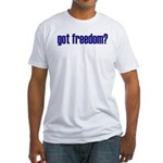 Got Freedom? Classic Fitted T-Shirt