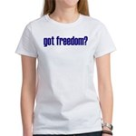 Got Freedom? Classic Women's T-Shirt