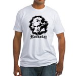 Beethoven Rockstar Fitted T-Shirt