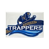 Saskatchewan Trappers Rectangle Magnet (10 pack)