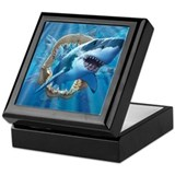 Great White 1 Keepsake Box