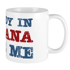 Somebody in Montana Loves Me Mug