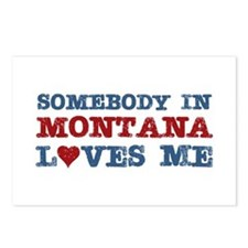 Somebody in Montana Loves Me Postcards (Package of
