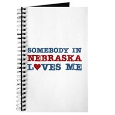 Somebody in Nebraska Loves Me Journal
