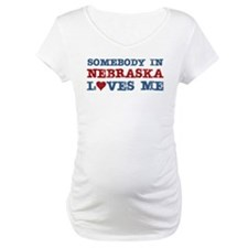 Somebody in Nebraska Loves Me Shirt