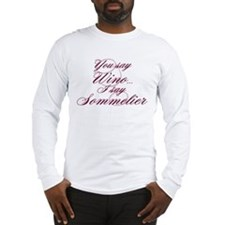 Wino or Sommelier Long Sleeve T-Shirt