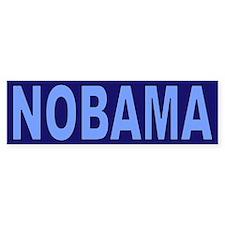 Baby/Dark Blue NOBAMA Bumper Sticker (10 pk)