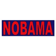 Red/Navy Blue Bumper Bumper Sticker