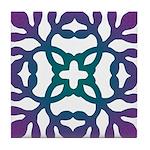 Colorful Papercut Tile Coaster