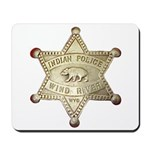 Wind River Police Mousepad