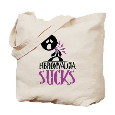 Fibromyalgia Sucks Tote Bag