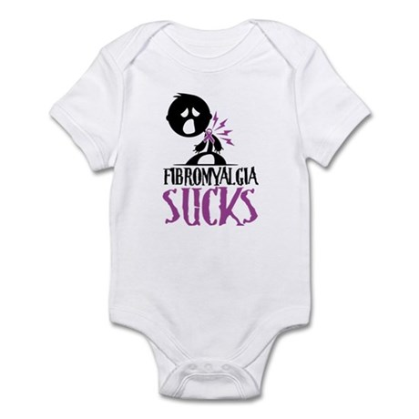 Fibromyalgia Sucks Infant Bodysuit