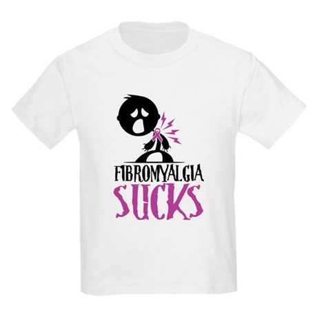 Fibromyalgia Sucks Kids Light T-Shirt