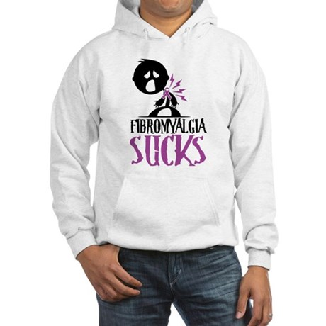 Fibromyalgia Sucks Hooded Sweatshirt