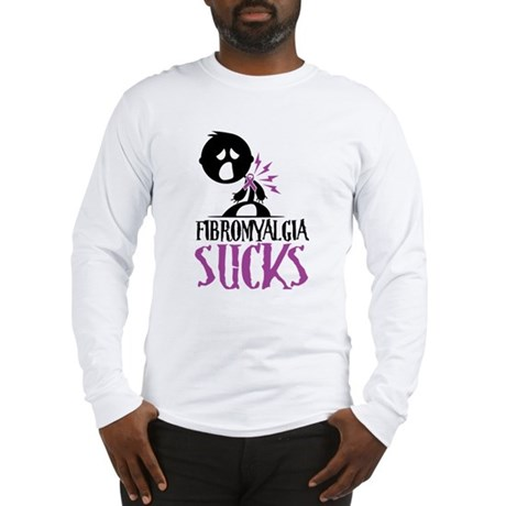 Fibromyalgia Sucks Long Sleeve T-Shirt