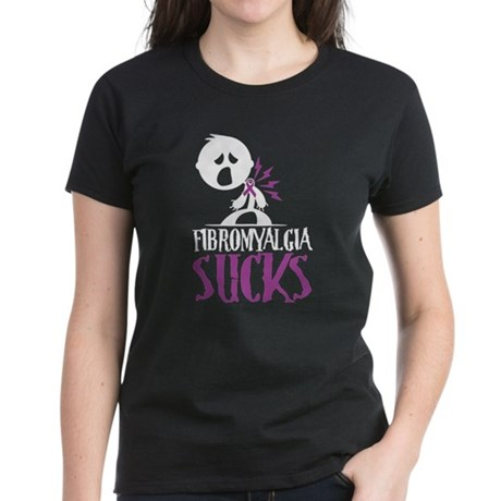 Fibromyalgia Sucks Women's Dark T-Shirt
