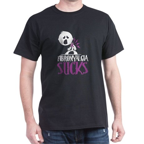 Fibromyalgia Sucks Dark T-Shirt