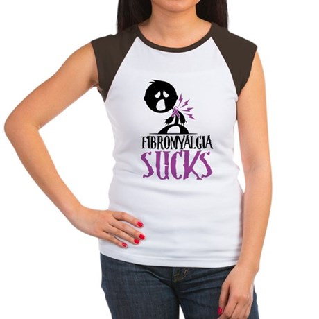 Fibromyalgia Sucks Women's Cap Sleeve T-Shirt
